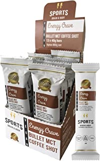 COCO EARTH Energy Crave Vegan Sports Bars - Pack of 12 (40g each)
