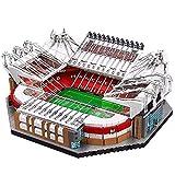 Bloques de construcción—Famous Football Stadiums Building Kit Creator Manchester United - Old Trafford Stadium 3D Puzzle (Sin luz)