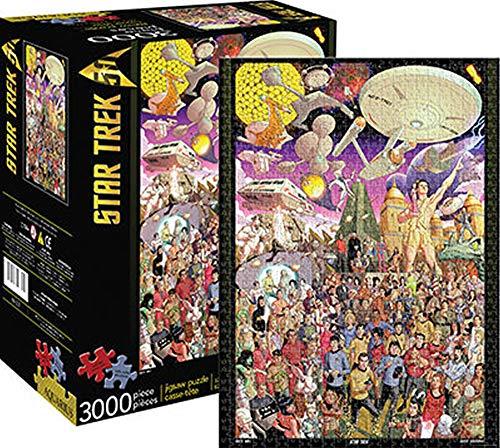 Star Trek (スター・トレック) The Original Series 50th 3000 Piece Jigsaw Puzzle (3000 ピース ジグソーパズル) [並行輸入品]