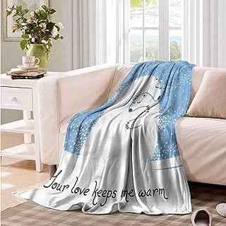 Oncegod Baby Blanket Animal Polar Bear Mother Baby Blanket on Bed Sofa Bedding 93