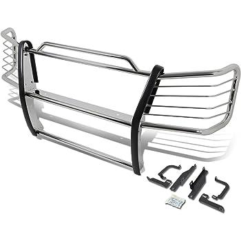 Compatible with Chevy Silverado 1500HD//2500 03-07 Bumper Brush Grille Guard Protector Black