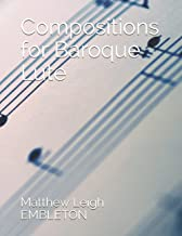 Compositions for Baroque Lute