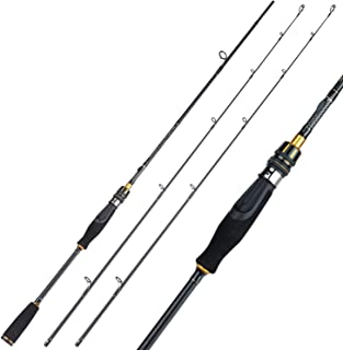 Sougayilang Fishing Rods,Sensitive Baitcasting Rod &...