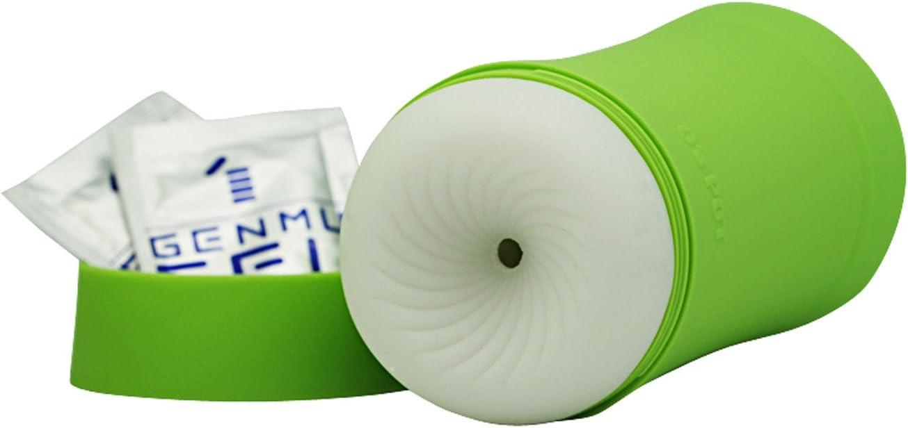 Genmu Max 70% OFF G's Pot Sweetie Elastic Max 74% OFF Cup Masturbation Green Male
