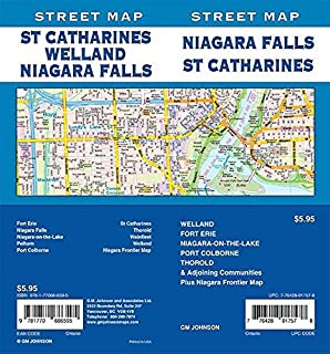 Niagara Falls / St. Catharines / Welland, Ontario Street Map
