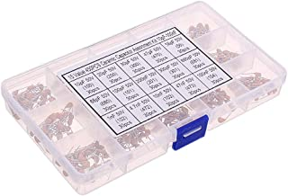 Electronic Module 15 Value Monolithic Capacitor Set 50v Multi-layer Assortment Box 10pf To 100nf Electronic Components Cap...