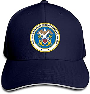 US Navy Naval Security Group Command Unisex Adjustable Baseball Hat Classic Cotton Trucker Dad Cap