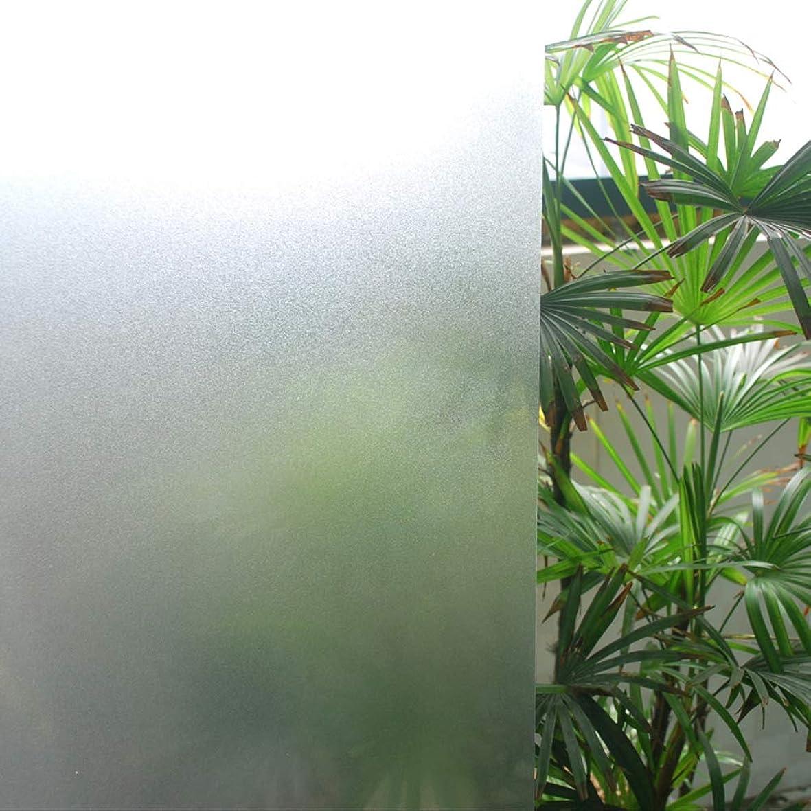 強制的イヤホン血統プライバシー ウィンドウ フィルム, 自着性 リムーバブル つや消し からすのステッカー カバー 防水 熱制御 アンチ uv 装飾 ホーム バスルーム オフィス-B 200x60cm(79x24inch)