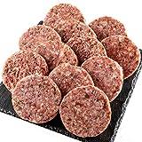 bonbori ( ぼんぼり ) 究極のひき肉で作る ハンバーグ ( 120g × 12個入り / 牛肉100% / プレーン ) 無添加 / 冷凍 / レトルト / ギフト