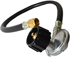 Onlyfire 21-Inch Propane Hose and Regulator Kit with QCC1 Valve Assembely, CSA Certified, 3/8
