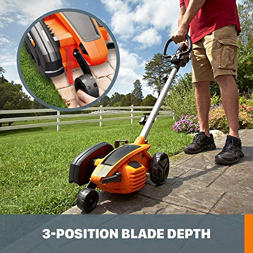 "WORX WG896 12 Amp 7.5"" Electric Lawn Edger & Trencher"