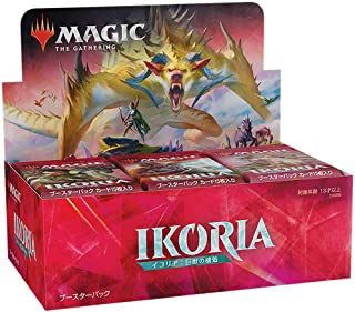 Magic: The Gathering Ikoria: Lair of Behemoths Japanese Draft Booster Box | 36 Draft Booster Packs (540 Cards + Box Topper) | Factory Sealed