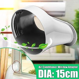 Z&S - Adaptador de ventana + placa ajustable para aire acondicionado portátil