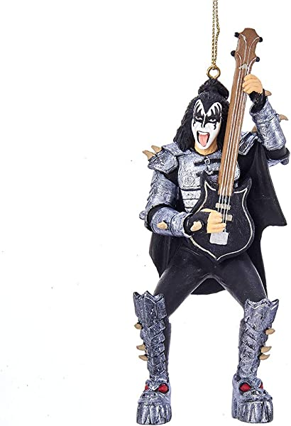 Kurt Adler 5 Inch Resin KISS Demon Ornament