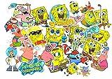 Top Pegatinas! Juego de 99 Pegatinas de Bob Esponja Vinilos - No Vulgares - Bob Esponja Spongebob Squarepants - Personalización, Scrapbooking, Bici, Moto, Auto