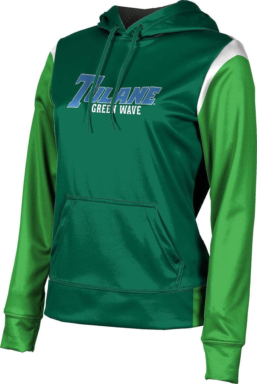 ProSphere Tulane University Girls' Pullover Hoodie, School Spirit Sweatshirt (Tailgate)