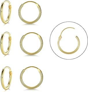 Best tiny hoop earrings Reviews