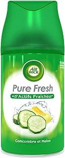 Air Wick Desodorisant Maison Recharge Diffuseur Freshmatic Concombre et Melon 250 ml
