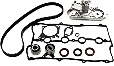 Timing Belt Kit Water Pump w/Gaskets Tensioner And Valve Cover Gasket For 1994 1995 1996 1997 1998 1999 2000 Mazda Miata MX5 1.8L