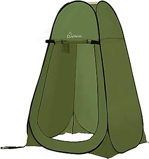 WolfWise Tente de Douche Pop Up Toilette Cabinet de Changement Camping Abri de Plein Air..