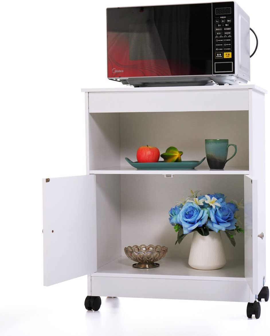 N+A GMHAHA Microwave Stand 4 years warranty with Spasm price Kitchen Carts Islands Storage