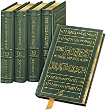The Hobbit, Lord of the Rings (The Return of the King, The Two Towers, The Fellowship of the Ring,) The Silmarillion [Complete Full Leather 5-Vol. set in the Original Shrinkwrap]