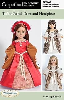 Pattern for Tudor Dress - fits 18