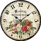 Mtye 30 cm Wohnzimmer Uhr/stille Holz wanduhr/quarzuhr Retro/Home küche zubehör M008