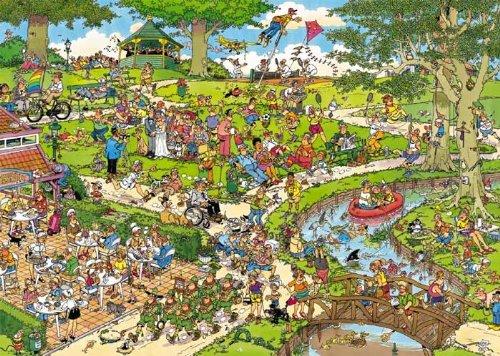 Jumbo 01492 - Jan Van Haasteren - Der Park - 1000 Teile