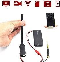 Spy Hidden WiFi Wireless Camera - Mini Flex 1080P Portable Security DIY Home and Business Camaras, Motion Detection, Loop Recording, Nanny Cam