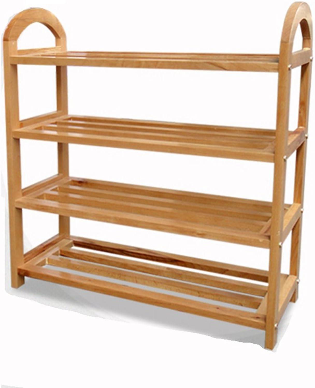 JIANFEI shoes Shelf Rack Thickening Reinforced Multi-Layer Storage Cabinet, Wood (Size   64  23  68cm)