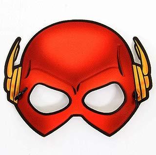 Mascara the Flash 13249 Infantil Sulamericana Fantasias Vermelho/amarelo Único