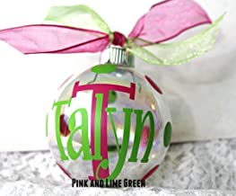Best monogrammed christmas ornaments initial Reviews
