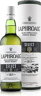 Laphroaig Select Islay Single Malt Scotch Whisky, mit Geschenkverpackung, sanfter Torfrauch mit süßlichen Noten, 40% Vol, 1 x 0,7l