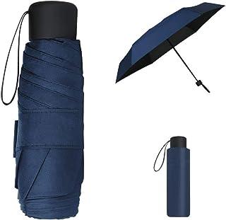 Vicloon Ombrello Pieghevole Antivento, Ombrello da Viaggio Portatile Leggero Compatto, Protezione Pioggia e UV Ombrello pe...