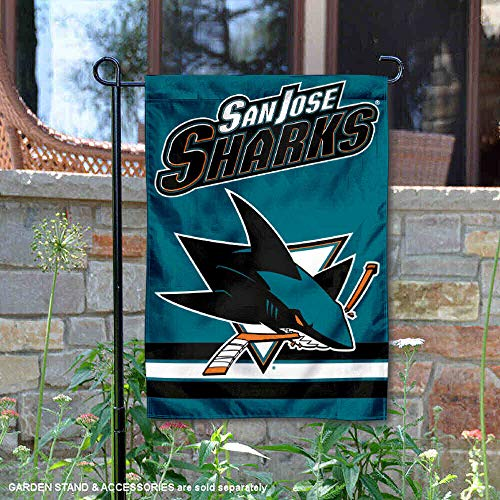 WinCraft San Jose Sharks Double Sided Garden Flag