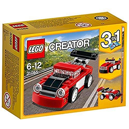 LEGO Creator 31055 - Rennwagen, rot