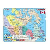 Larsen No Puzzle Encadré Canada 48 Pièces, K11