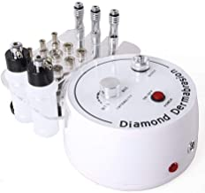 3 in 1 Diamond Microdermabrasion, Doris Direct Dermabrasion Machine Facial Care Salon Equipment for Personal Home Use (Suction Power: 0-55cmHg)