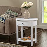 Convenience Concepts Classic Accents Cypress End Table, White