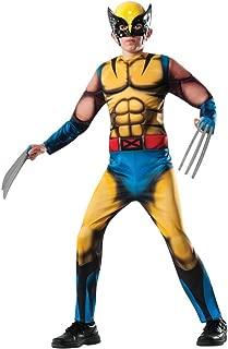 Marvel Wolverine X-men Superhero Boys Halloween Costume deluxe