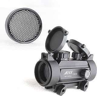 ANS Optical ドットサイト 大口径タイプ 3段階調光 レッド&グリーン&ブルー ドット 3色イルミ