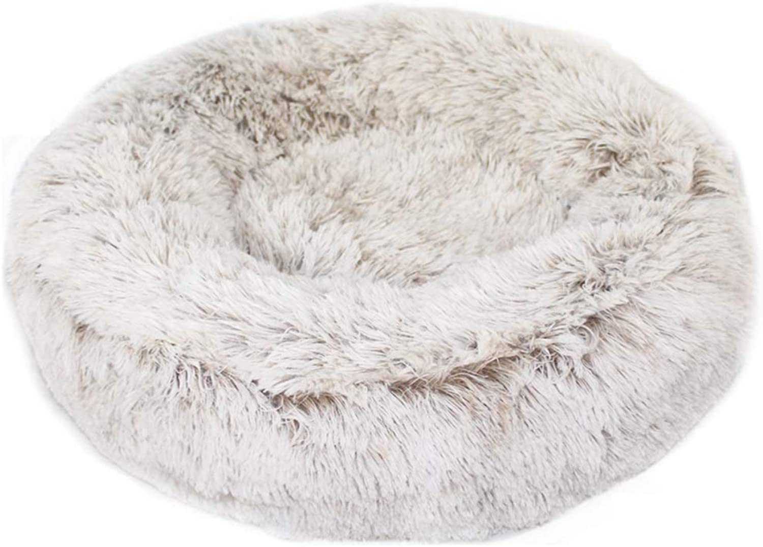Plush Kennel Round Dog Bed Basket Cushion Washable Soft Warm Autumn and Winter Small and Medium Sized Dogs