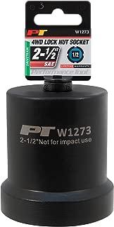 Performance Tool W1273 2-1/2-Inch 4 Wheel Drive Lock Nut Socket