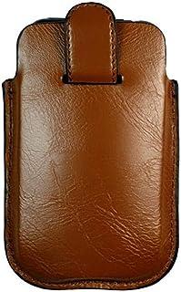 Kroo BARE Premium Leather Case Designed for Apple iPhone 3G/3GS - Cognac