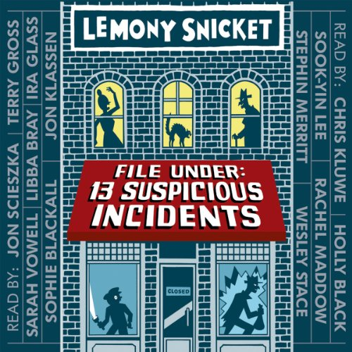 File Under: 13 Suspicious Incidents audiobook cover art