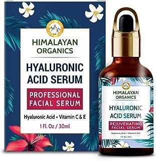 Himalayan Organics Hyaluronic Acid Serum for face Capture Youth with Retinol, Vitamin C & E - 30ml - Under Eye Dark Circle...
