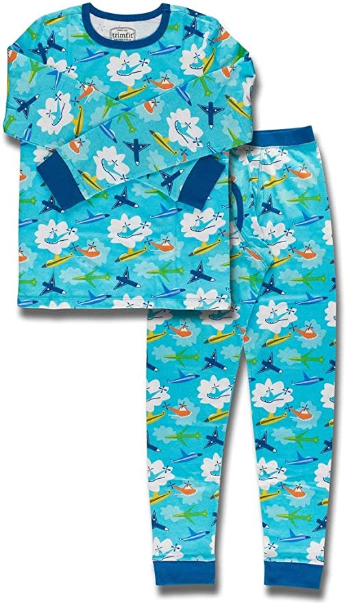 Comfortable and Soft Thin Short-sleeved Suit FHOMDOD Artificial Cotton Childrens Pajamas Color : A, Size : 100cm Suitable for Home Wear