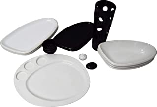 Ceramic,Multi Color - Dinnerware 13 Pcs Set