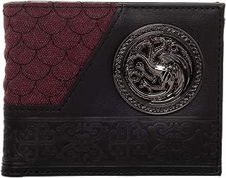 Game Of Thrones House Targaryen Badge Bi-fold Wallet